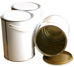 White/Lacquer Lever Lid Tins