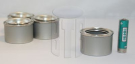 30 ml (BOX OF 30) PLAIN/PLAIN LEVER LID TIN