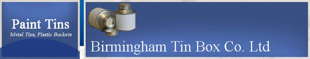 Birmingham Tin Box, Paint tins